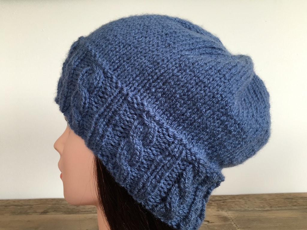 Tricot Bonnet Fisher Cable Hat