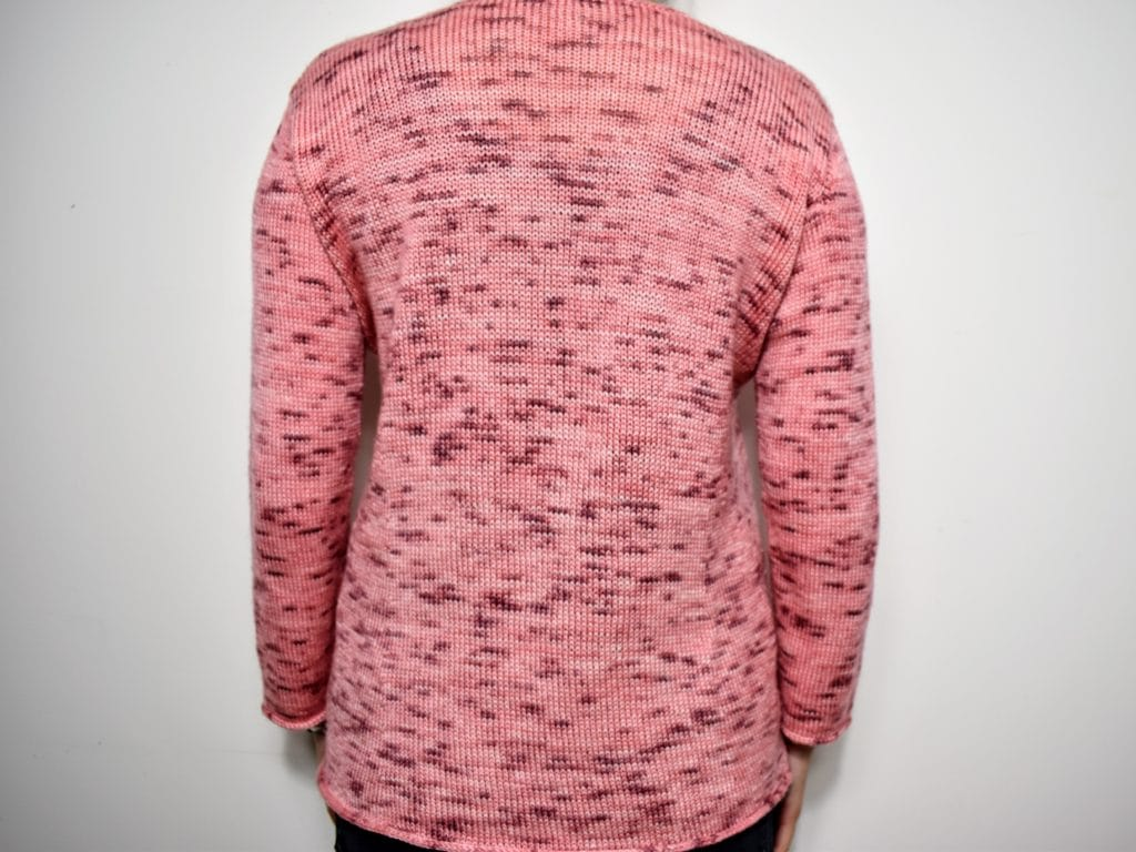 Tricot Pull Flamboyant Dos