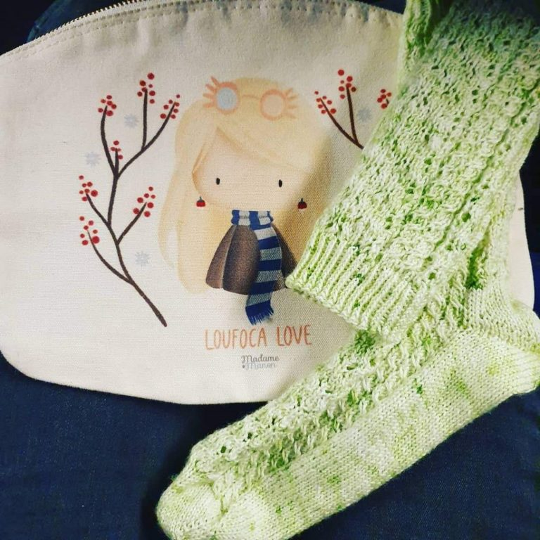 Tricot Chaussettes Herbology Socks 2