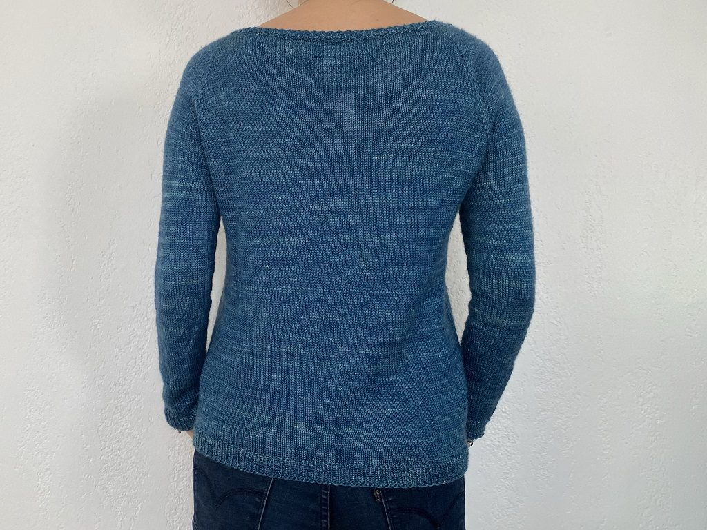 Tricot Pull Elementary Dos