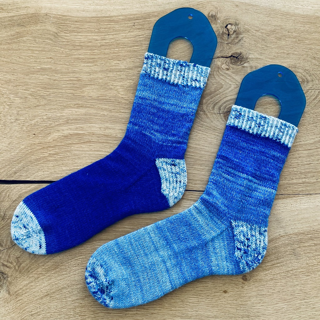 Tricot Chaussettes Lily Neige 2