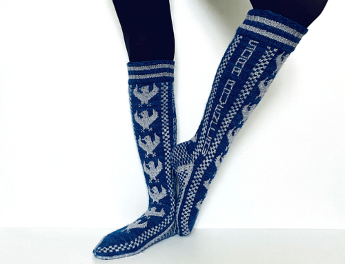 Ravenclaw Pride Socks d'Ann Kingstone