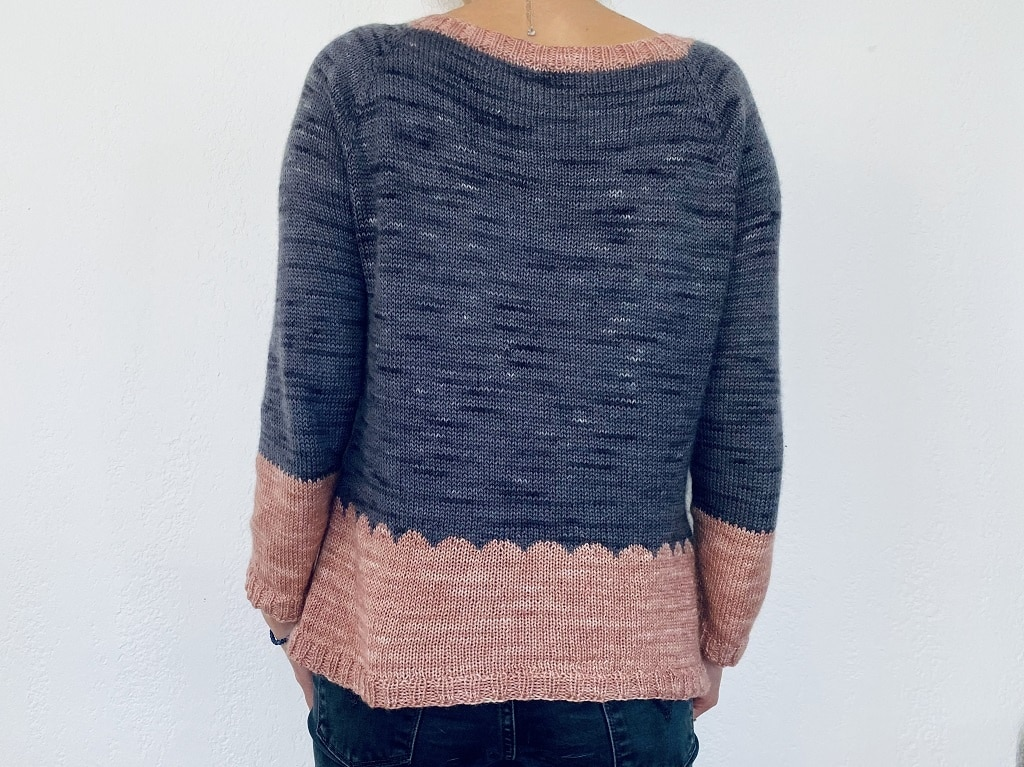 Tricot Pull Snowdancer Dos
