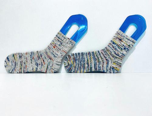 Wild Flowers Socks de Jessica Gore