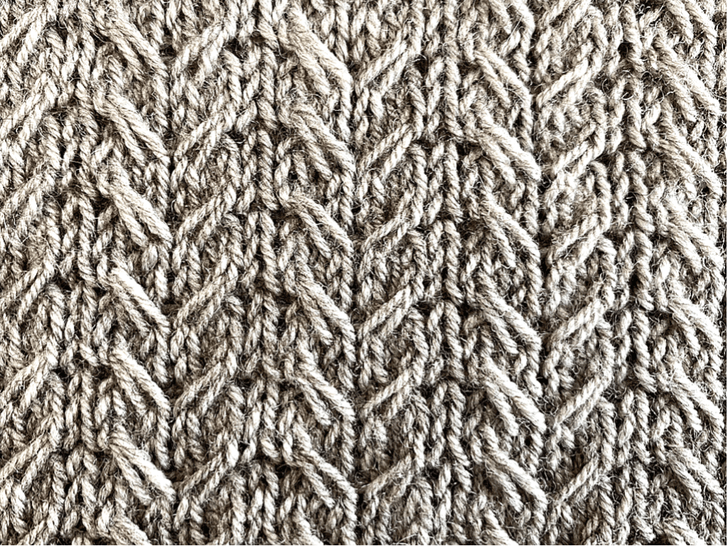 Tricot Pull Cloudesley Detail